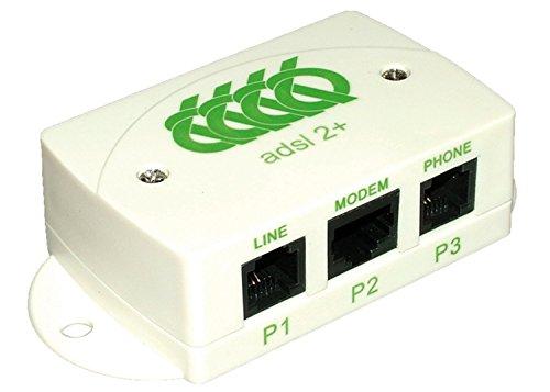 Filtre ADSL 2+ maître decelect forgos fixation murale