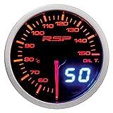 SUMEX Indicador de temperatura de aceite Race Sport Perfomance 52mm de diámetro. Reloj con iluminación led blanca/roja-ambar modo día/noche. Indicación con aguja analógica y con display digital.