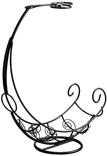 Creative Wijnrek Piratenschip Goblet Frame Decoratie Wijn bekerhouder Wijnrek Fashion Flessenrek rek van de wijn (颜色 Kleur: Brons) WKY (Size : Black)