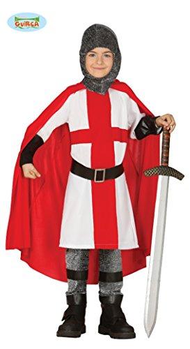Kreuzzug Ritter - Kostüm für Jungen Gr. 110 - 146, Größe:110/116
