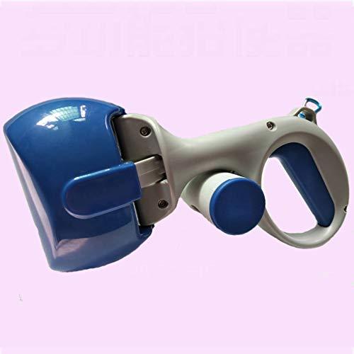 Chien Pooper Scooper, Pelle à Chien Portable 2 en 1, Ramasse Nettoyage pour Chiens et Chats - blue1-28x12cm