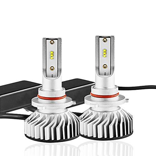 Kit de phare R8 LED H4 H7 ampoule LED 12V 24VH1 H3 H8 H9 H11 HB3 HB4100W luminosité de 300% est 10000lm, 2PCS,H7