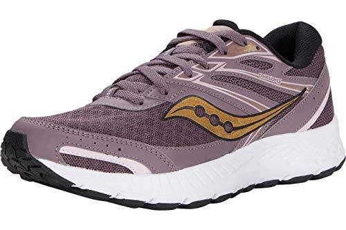 Saucony Women's Cohesion 13 Running Shoe, Dusk/Blush, 8