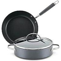 3-Piece Anolon Advanced Hard-Anodized Nonstick Cookware Set
