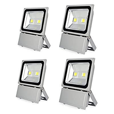 Sanzo® 100W Warm White Super Bright LED Flood lights LampLight Outdoor Spotlight Light