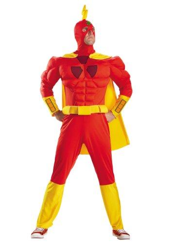 Disfraz Nios radiactivos Hombre Classic Muscle Adultos Fancy Dress Disfraz