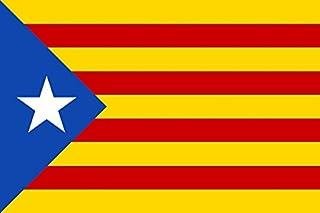 comprar comparacion DURABOL Bandera de Inde.Catalan Estelada blava-catalunya -cataluña independentista 150 x 90 cm Poliester Flag