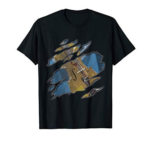 Cello Streichinstrument | Musiker und Musik Fans T-Shirt
