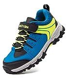 BMCiTYBM Toddler Sneakers Boys Kids Waterproof Hiking Tennis Athletic Running Shoes Outdoor Blue