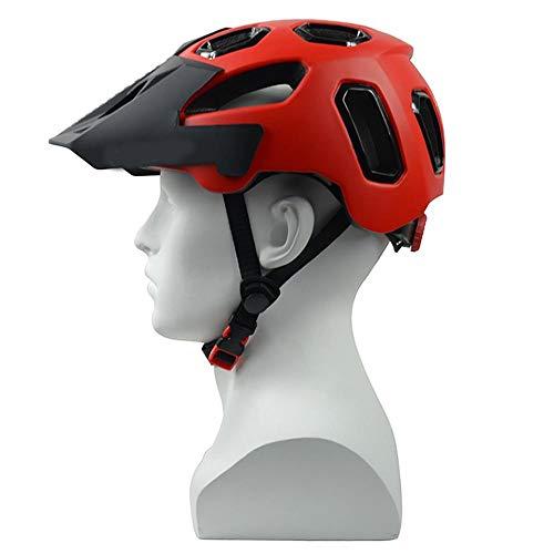 Helmet HCHW Cycle Helmets Safe Adjustable Bicycle Helmet EPS Protection Mountain Bike Helmets Road Ultralight L(58-62cm) 010