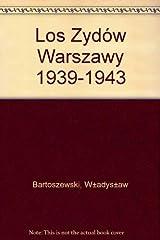 Los Żydów Warszawy 1939-1943 (Polish Edition) Paperback