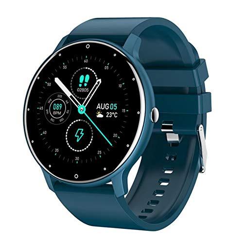 Smartwatch 1.28'trae Electricidad/Frecuencia Cardíaca/Recordatorio De Presión Arterial/Monitoreo del Sueño/Recordatorio De Alarma/con Modo Multideportivo Pulsera Inteligente