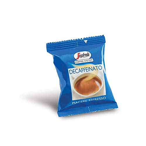 Segafredo Zanetti Coffee System - 50 Capsule Decaffeinato Originali Segafredo, Aroma Equilibrato e Cremoso - 1 Confezione da 50 Capsule