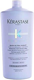 Kerastase Blond Bain Ultraviolet - Champú Violeta para Cabello Rubio 1000 ml