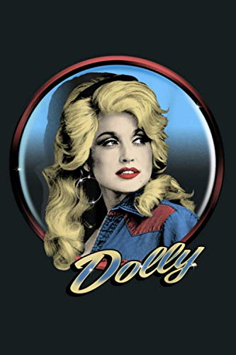Dolly Parton Western: Notebook Planner - 6x9 inch Daily Planner Journal, To Do List Notebook, Daily Organizer, 114 Pages