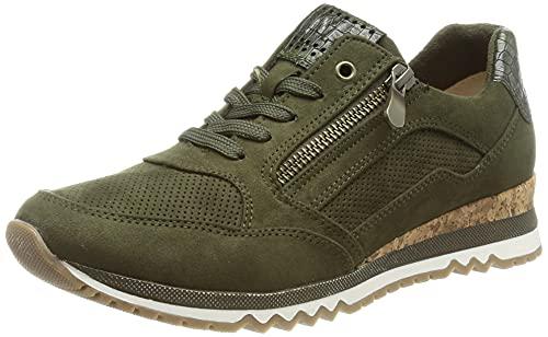 MARCO TOZZI Damen 2-2-23781-27 Sneaker, Olive Comb, 39 EU