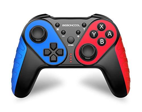 BEBONCOOL Controller für Nintendo Switch, Kabellos Switch Controller mit Präzise Bewegungssteuerung, Dual Motors Vibration, Turbo Funktion, Pro Controller Switch Zubehör für Nintendo Switch Controller
