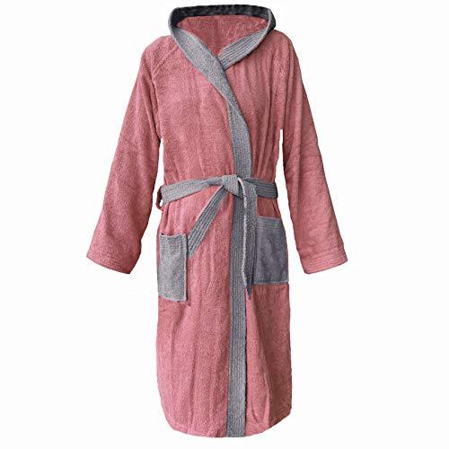 Homelevel badstof badjas 100% katoen vrouwen mannen dames en heren