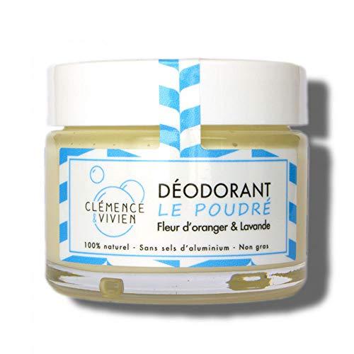 Clémence & Vivien Déodorant Crème Poudré 50 g