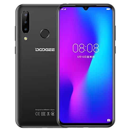 Smartphone high-tech N20, 4 GB + 64 GB, telecamere a tripla schiena, identificazione delle impronte digitali, batteria 4350 mAh, schermo tacca Waterdrop da 6,3 pollici Android 9.0 Pie MTK6763V Octa Co