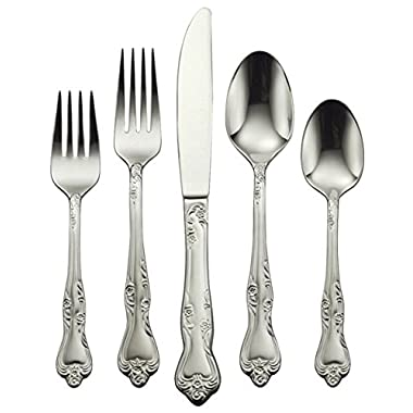 Oneida Azalea 45-Piece Flatware Set, Service for 8