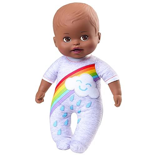 Muñeca Little Mommy Mi Primer Abrazo Morena