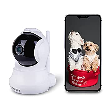 DogeDay Festivities WiFi Carmera HelloBaby Baby Monitor with 2-Way Audio Night Vision Motion Detection 1080P Pan/Tilt/Zoom WiFi Surveillance Camera Wireless Home Baby Cam