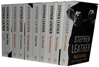 Stephen Leather Collection 10 Books set (Hard Landing, the fireman, the eyewitness, the stretch, tango one, the tunnel rats, the chinaman, hungry gost, dead men & Pay off)