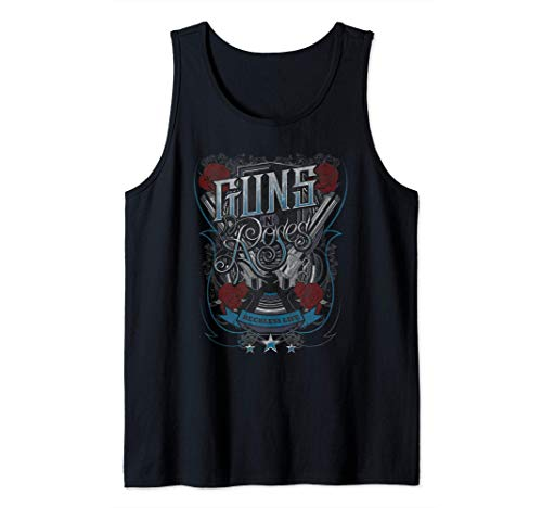 Guns N' Roses Official Reckless Life Guns Tank Top, Men and WOmen's Sizes from S to 2XL
