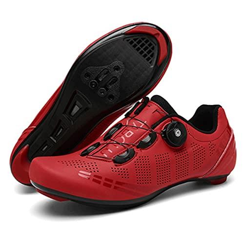 Calzado De Ciclismo Para Hombre, Outdoor MTB Road Pedal Bike Zapatos Con Compatible Zapato De Cala Zapatillas De Trail Running Unisex Transpirables, Para Ciclismo De Montaña, Bicicletas De Spinning De