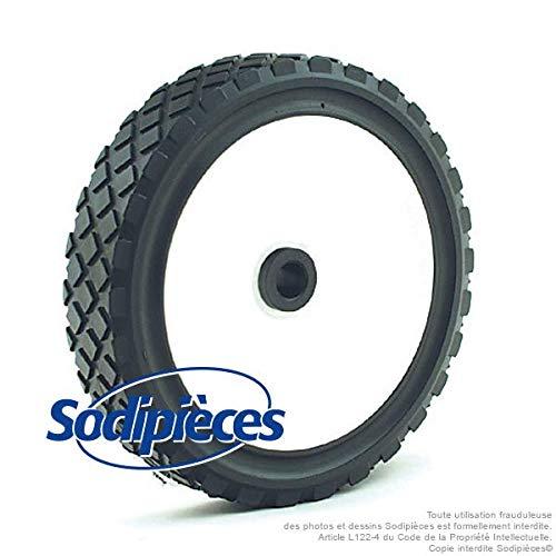 Ratioparts 175mm (Kunststoff) Rad, schwarz