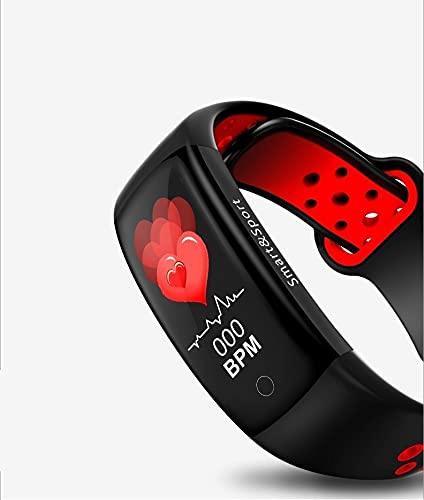 Superfit F50 Smartwatch Touch-Farbdisplay Fitness Armbanduhr mit Pulsuhr Fitness Tracker IP68 Wasserdicht Sportuhr Smart Watch mit Schrittzähler Schlafmonitor Stoppuhr für Damen Herren