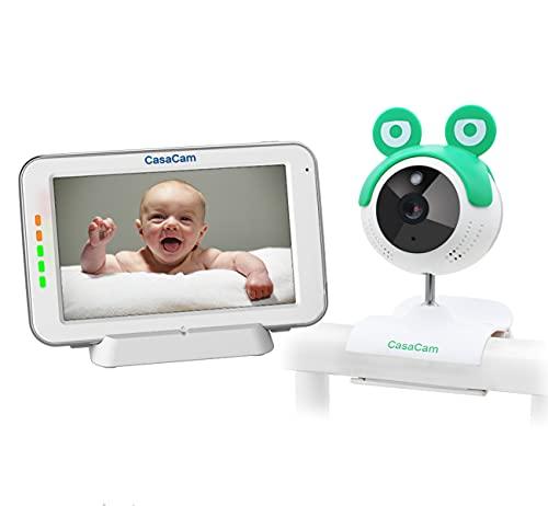 CasaCam BM240 Video Baby Monitor with 5
