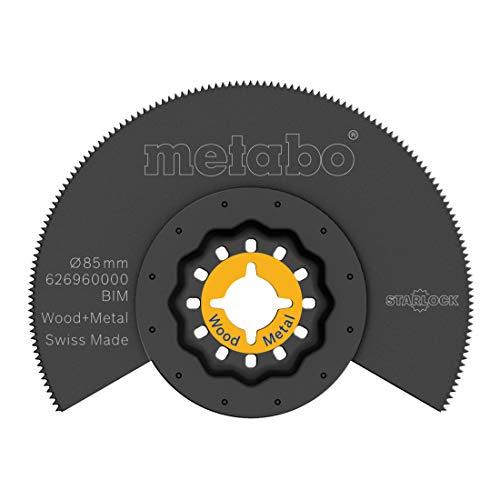 METABO Segmentsägeblatt, Holz und Metall, BiM, Ø85 mm (626960000)