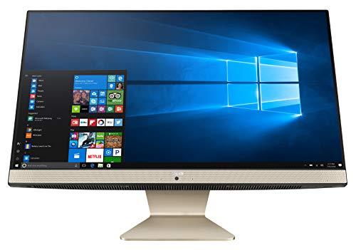 """ASUS Vivo AiO V241, All in One con Display FHD da 23,8"""", non-Glare, non-Touch, Intel Core i5 8265U, RAM 8GB, HDD 256GB SSD SATA, Scheda Grafica NVIDIA GeForce MX130, Windows 10 (64bit)"""