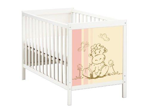 STIKKIPIX Schäfchen Möbelsticker/Aufkleber für das Babybett SUNDVIK von IKEA - SB03 - Möbel Nicht Inklusive