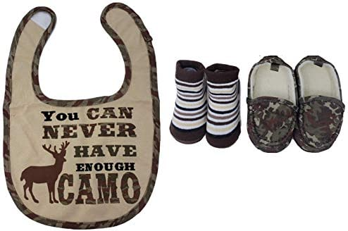 Rising Star Baby Boy39 s Camo Gift Set product image