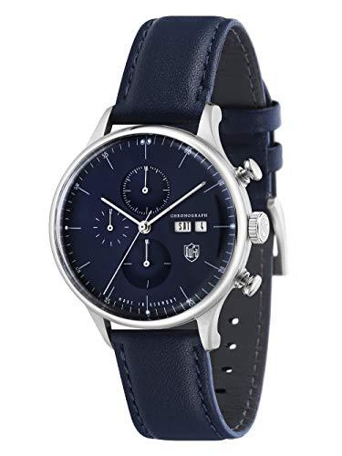 Dufa Van DER Rohe Barcelona Chrono Reloj de cuarzo japonés - DF-9021-04