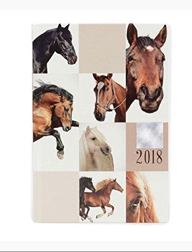Agenda escolar Plein Ciel caballos 2018/2019