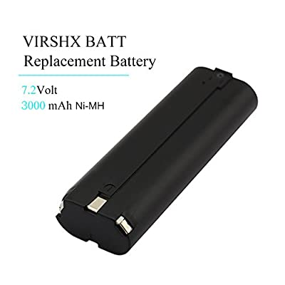 7.2V 2000mAh,3000mAh High capacity Ni-CD Replacement Battery for Makita 7000 7002 7033 191679-9 192532-2 192695-4 632002-4 632003-2(VIRSHX)