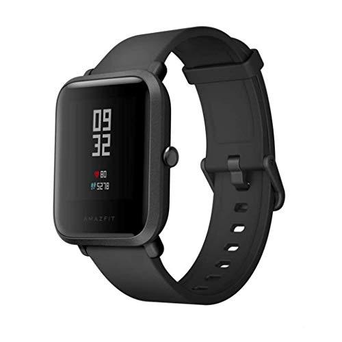 AMAZFIT Bip Smartwatch Monitor de Actividad Pulsómetro Ejercicio Fitness Reloj Deportivo - Negro (Reacondicionado)