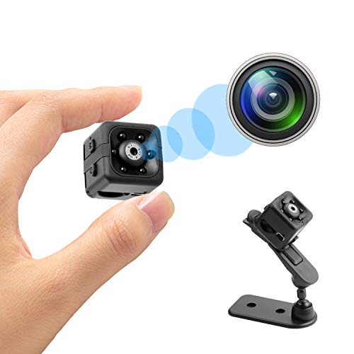 SoulLife Mini Spy Camera Small Home Security Camera 1080P Hidden Nanny Cam with Night Vision and Motion Detection for Home & Office Covert Surveillance Cameras
