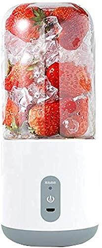 Blender portátil, batería de expresión portátil/batería recargable para USB Licuadora de jugos y licuadora de 4 cuchillas, 300 ml. BPA Botella de viaje gratuita para jugo, batido y batido. licuadora