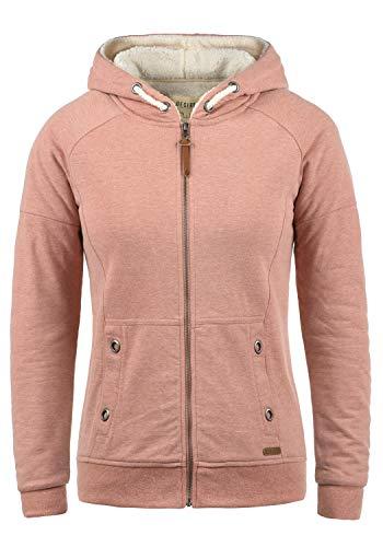 DESIRES Mandy Pile Damen Sweatshirt Pullover Pulli Mit Teddy-Futter, Größe:M, Farbe:Powder Rose (P5178M)