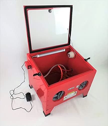 Cabina chorreadora de Arena 90 litros arenadora