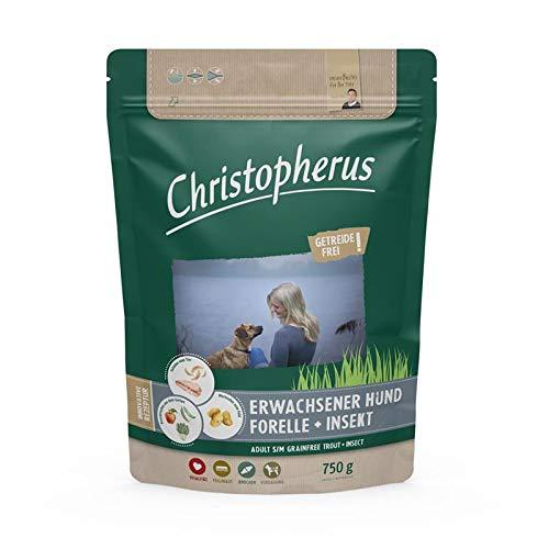 Christopherus Getreidefrei Forelle & Insekt 750g