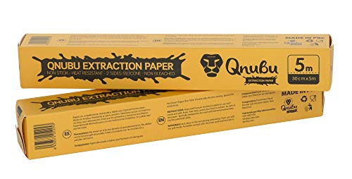 Qnubu Extraction Papier Extraccion Rosin, weiß