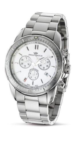 Philip Herren-Armbanduhr XL Prestige Cruiser Chronograph Edelstahl R8273694045