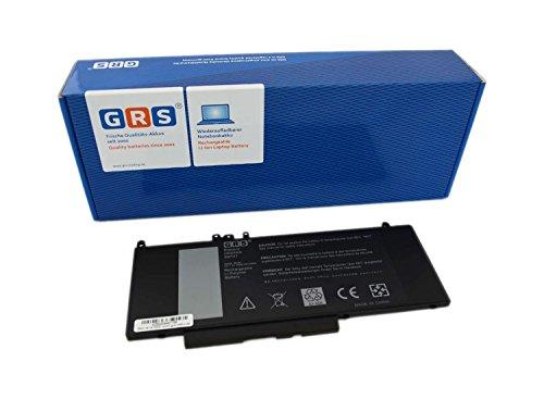 GRS Akku für Dell Latitude E5450, E5470, E5550, E5570 Serie, ersetzt: 0R9XM9, G5M10, 8V5GX, 08V5GX, 7V69Y, Laptop Batterie