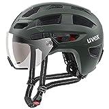 uvex Finale Visor, Casco Bicicletta Unisex-Adult, Forest Mat, 56-61 cm...